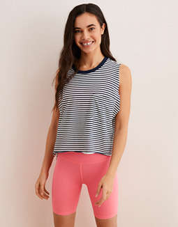 Aerie Distressed Boyfriend Tank