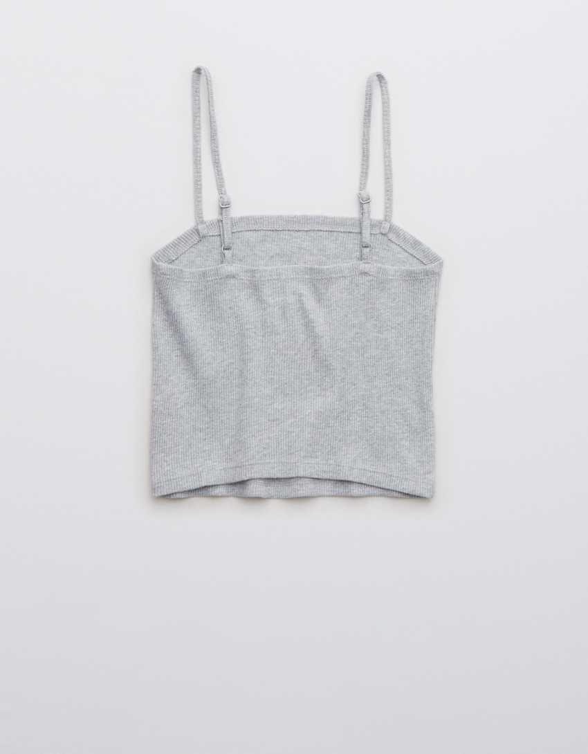 Aerie Ribbed Tube Tank Top