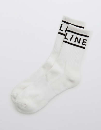 OFFLINE Graphic Crew Socks
