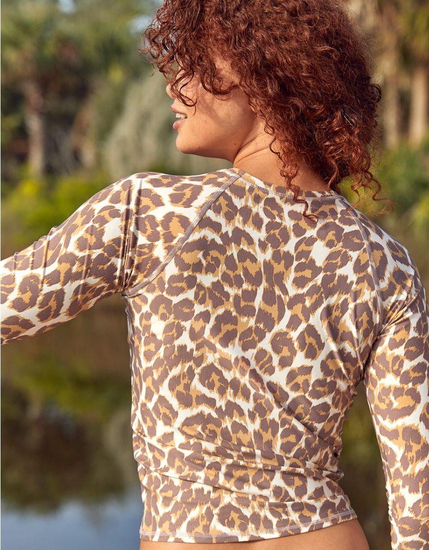 Aerie Leopard Rash Guard