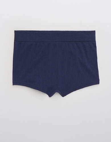 Aerie Ribbed Seamless Boyshort Underwear