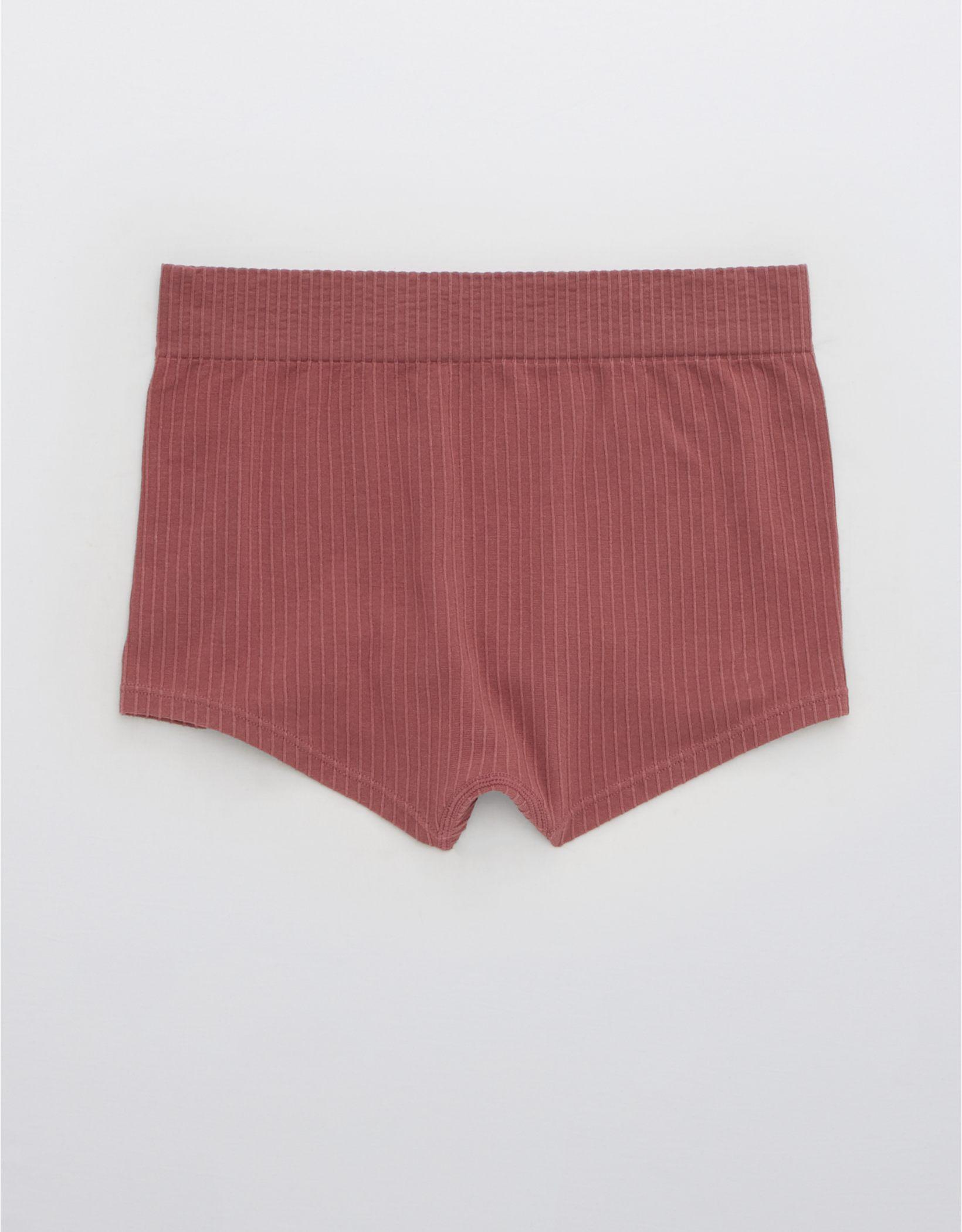 Aerie Ribbed Seamless Boyshort Underwear