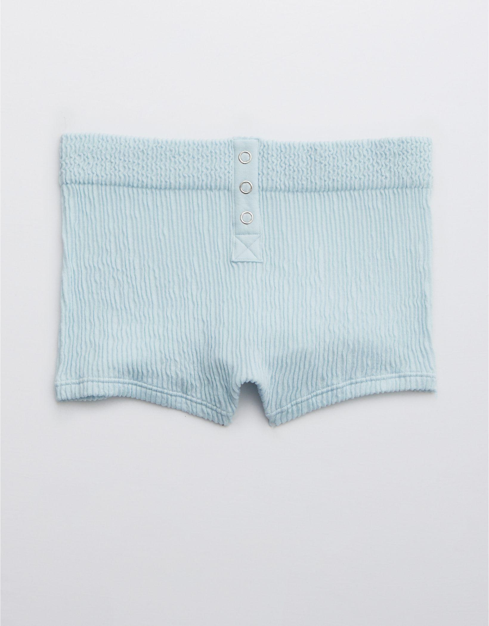 Aerie Seamless Snap Cheeky Boyshort Underwear