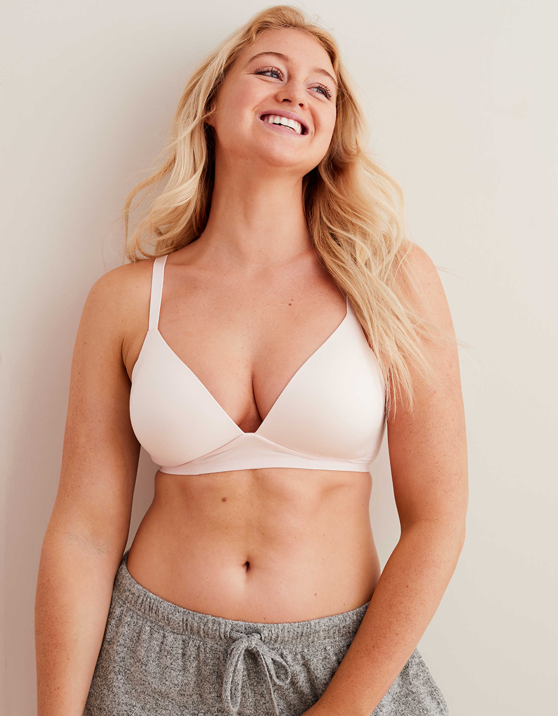 Aerie Real Sunnie Wireless Lightly Lined Bra