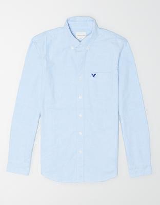AE Рубашка Оксфорд на пуговицах