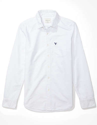 AE Slim Fit Oxford Button-Up Shirt