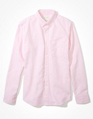 AE Slim Fit Oxford Button-Up Shirt   American Eagle