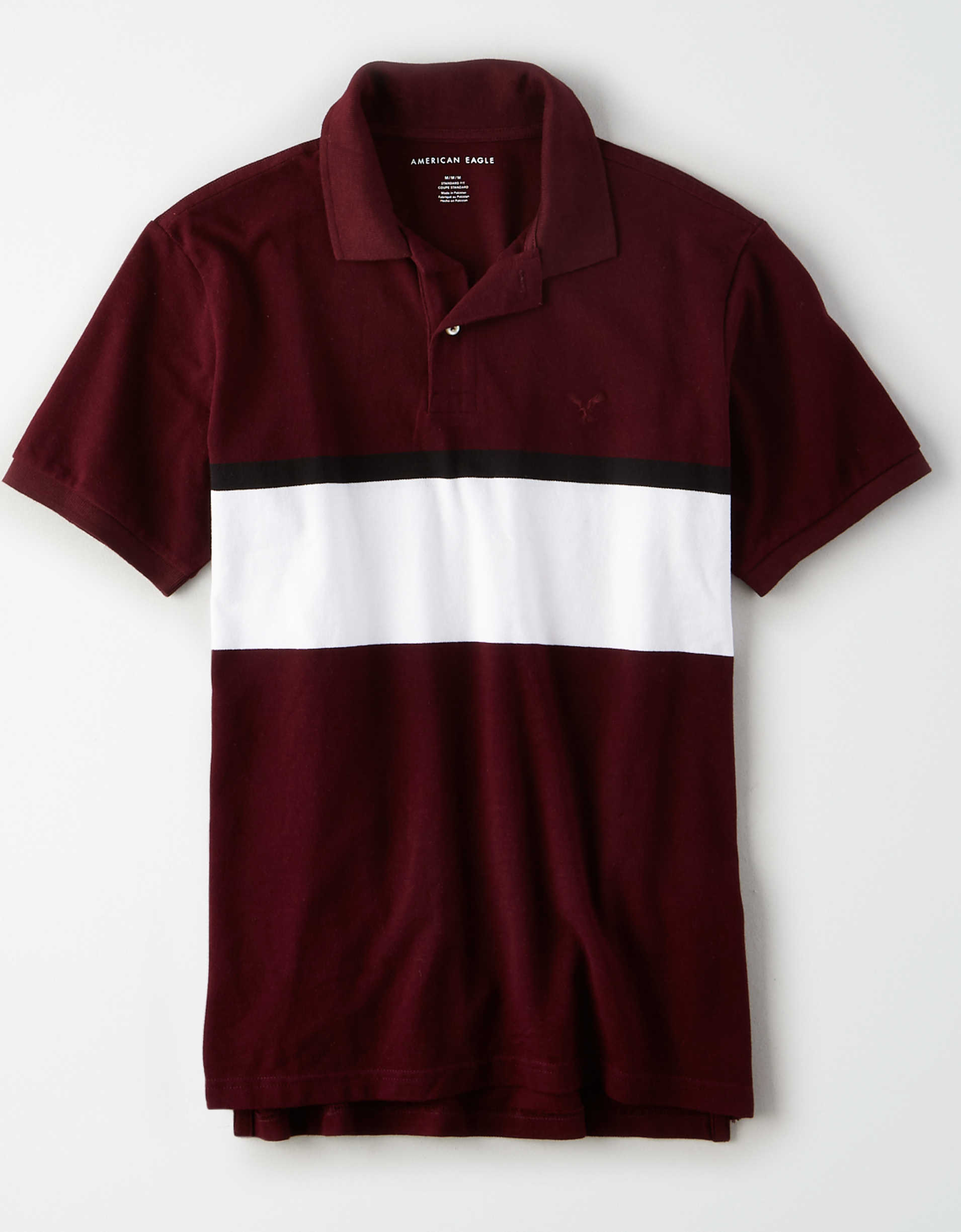 AE Color Block Polo Shirt