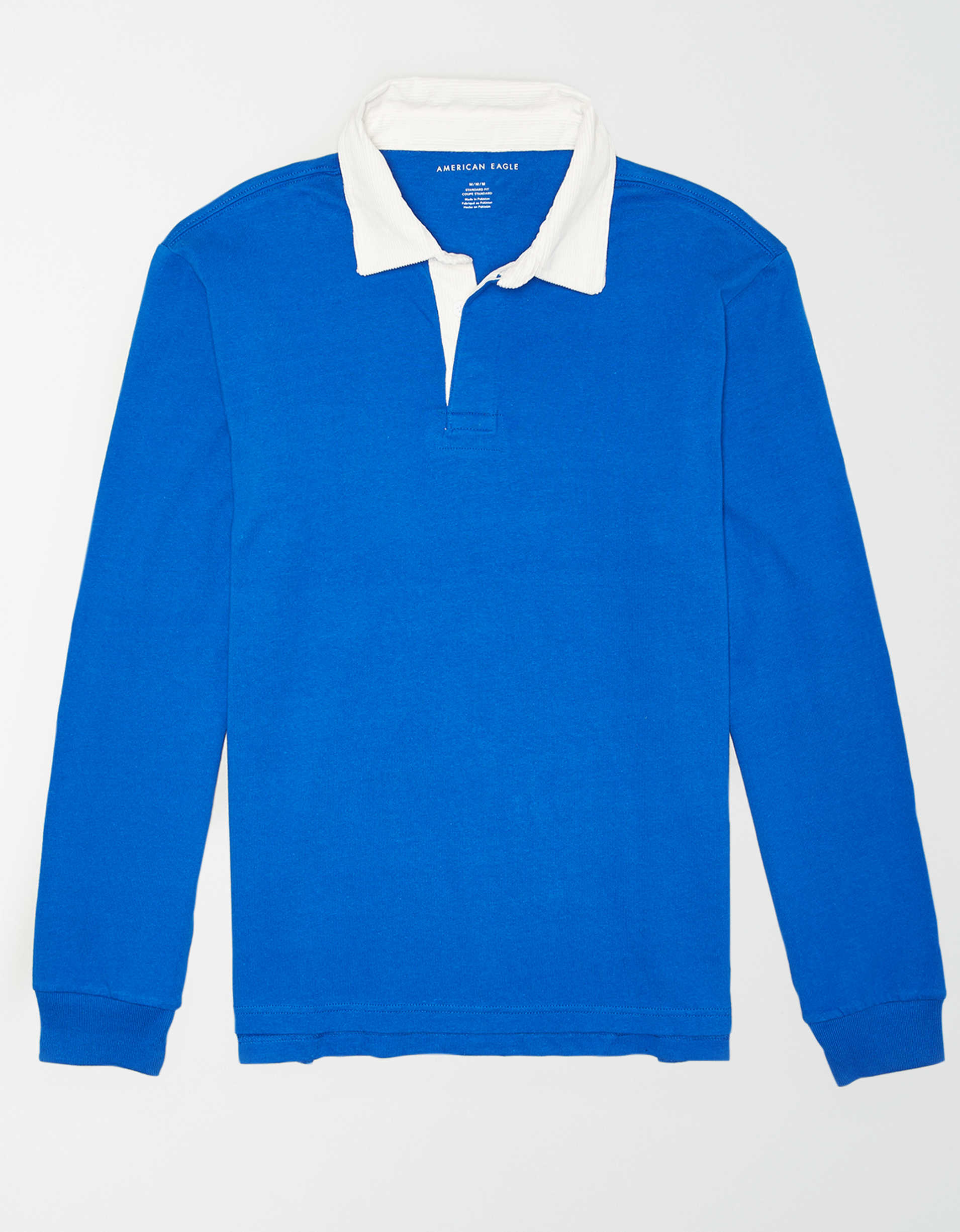 AE Long Sleeve Rugby Shirt