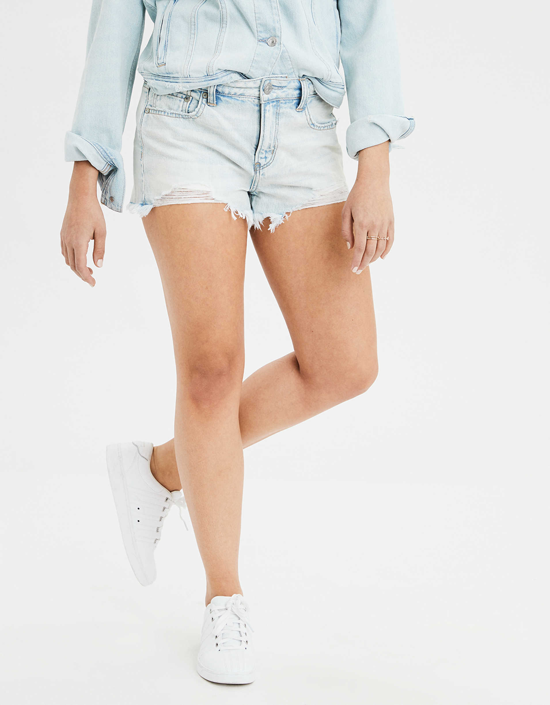 Denim Tomgirl Short Short