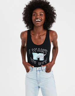 Ae X Mtv Bodysuit by American Eagle Outfitters
