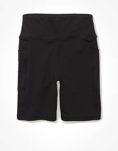 "AE The Everything Pocket Highest Waist 7"" Bike Short"