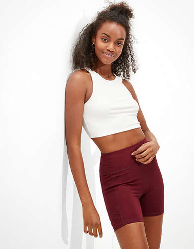 "AE The Everything Pocket Highest Waist Midi 5"" Bike Short"