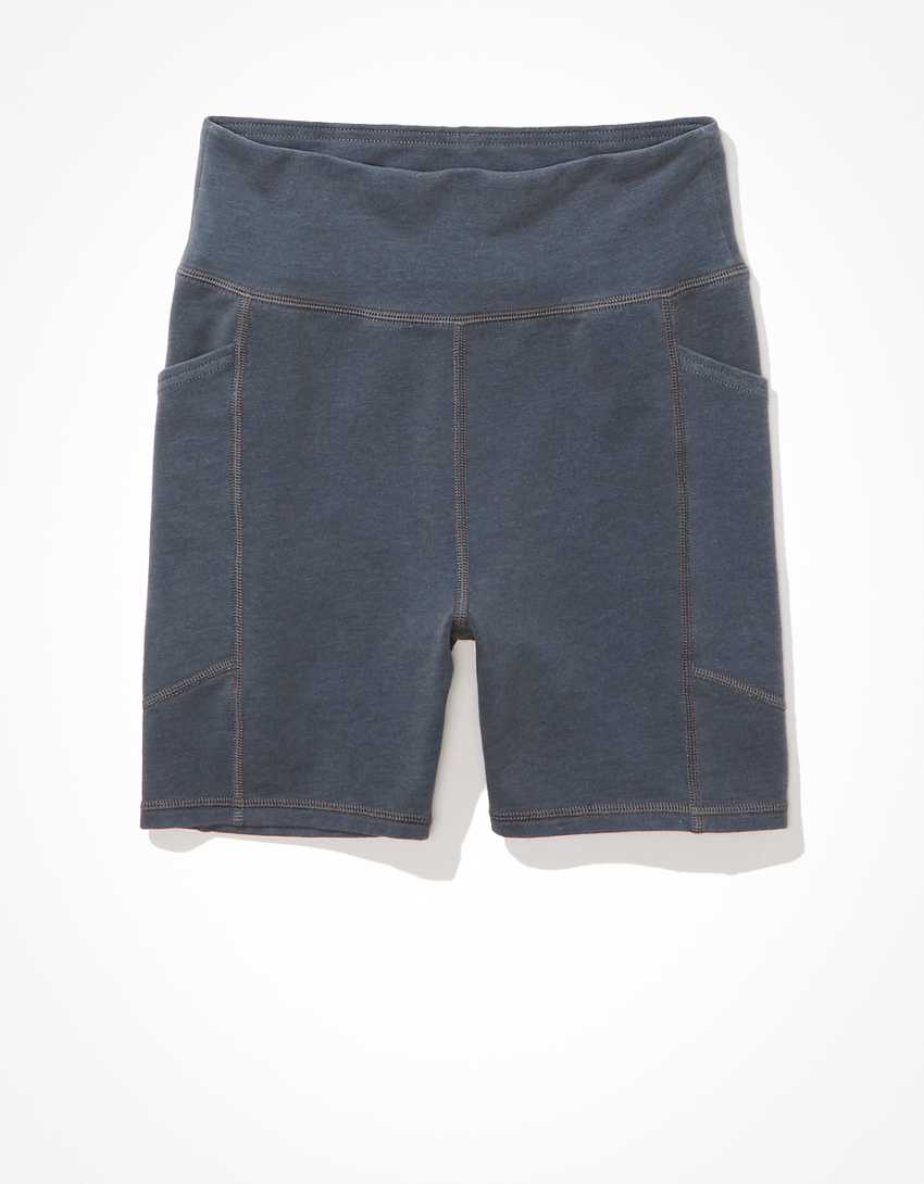 "AE Fleece Highest Waist Pocket Midi 5"" Bike Short"