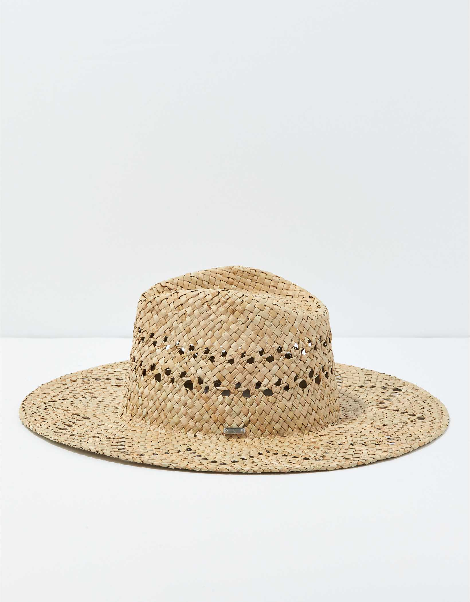San Diego Hat Co. Seagrass Zig Zag Brim Hat