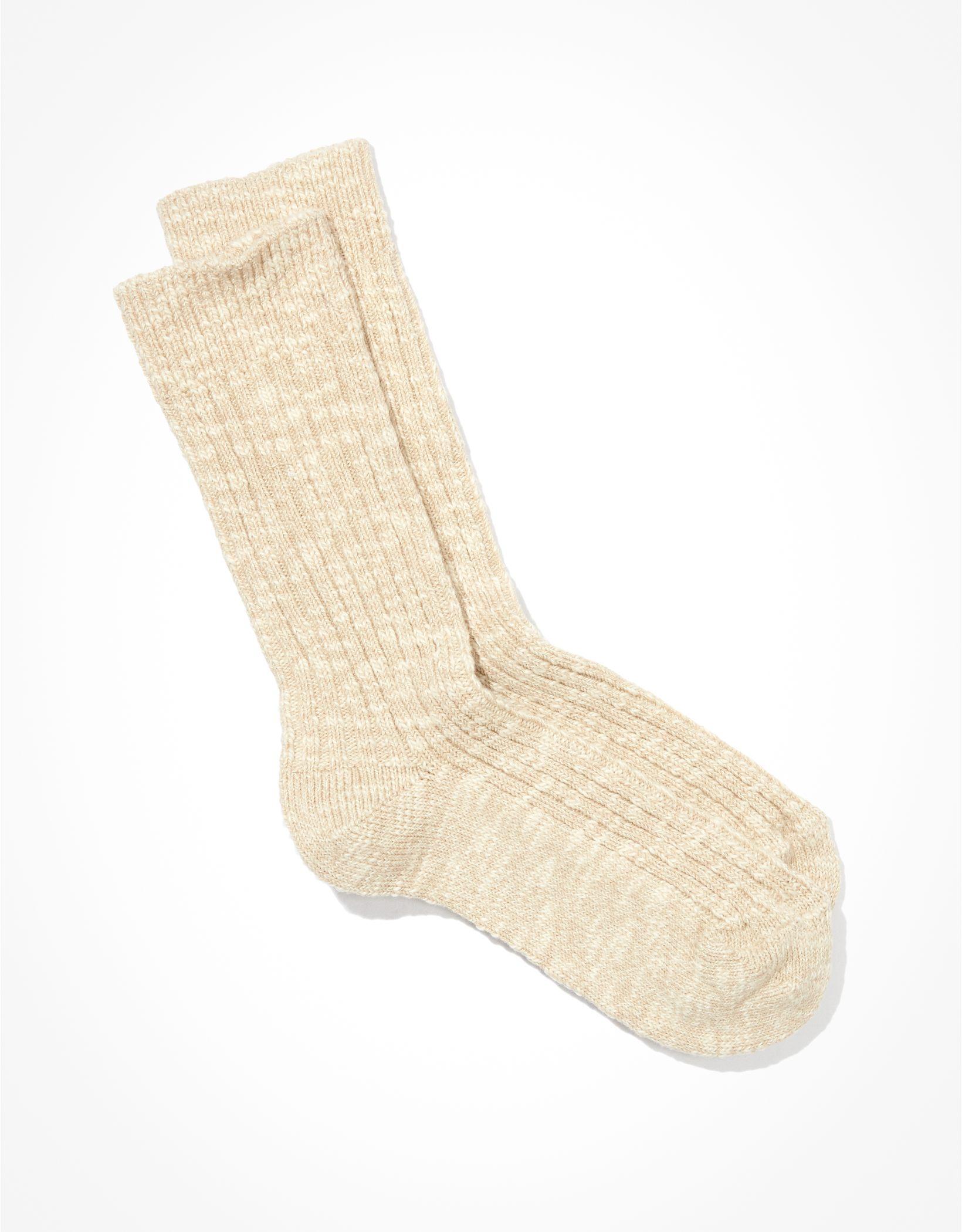 Birkenstock Cotton Slub Crew Sock