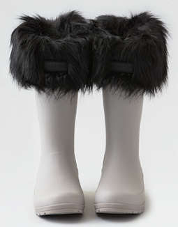 Hunter Faux Fur Cuff Boot Sock