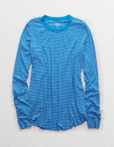 Aerie Real Soft® Ribbed Long Sleeve Tee