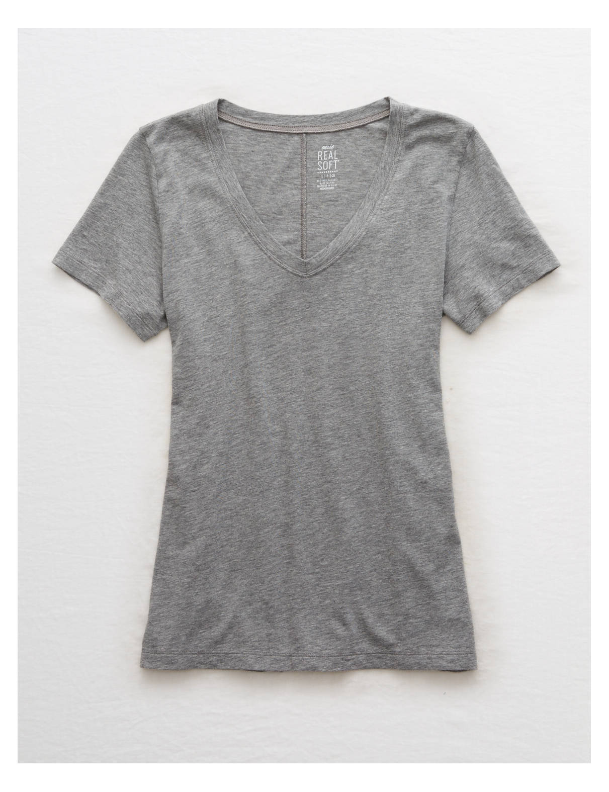 Aerie Real Soft(R) V-Neck Tee