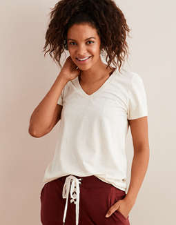 Aerie Real Soft® V-Neck T-Shirt