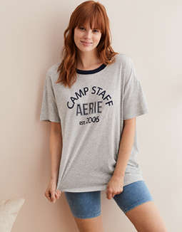 Aerie Distressed Boyfriend Tee