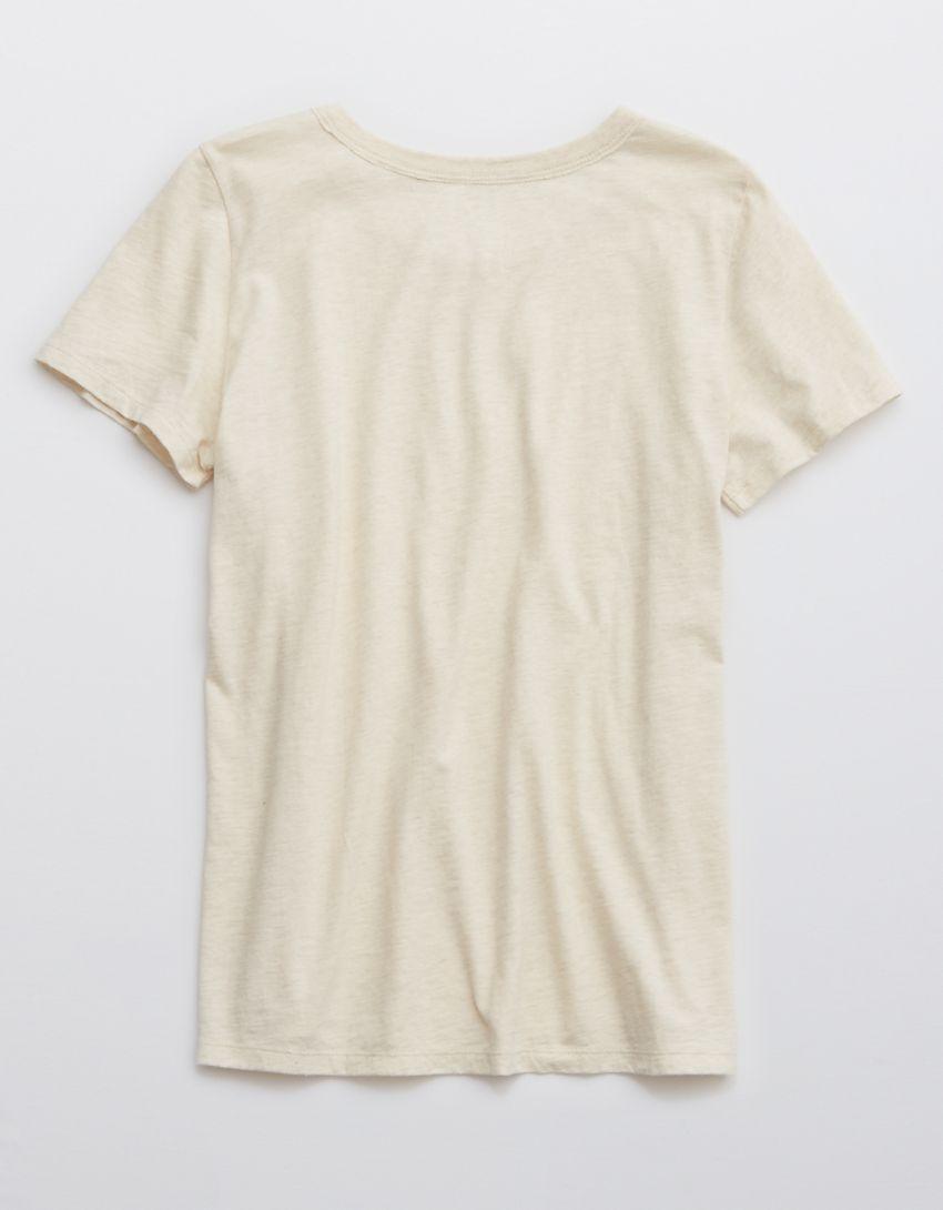Aerie Distressed Crewneck T-Shirt