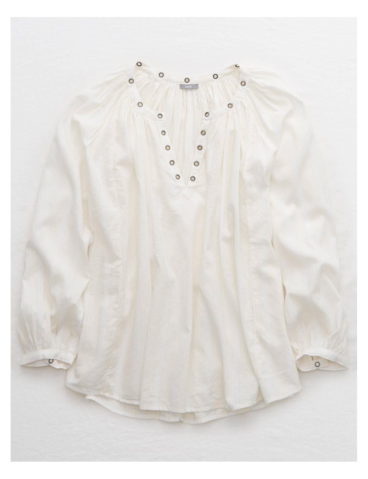Aerie Pretty Woven Shirt
