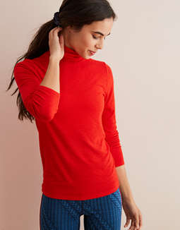 Aerie Real Soft® Ribbed Turtleneck by American Eagle Outfitters