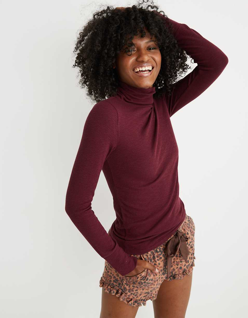 Aerie Ribbed Long Sleeve Turtleneck