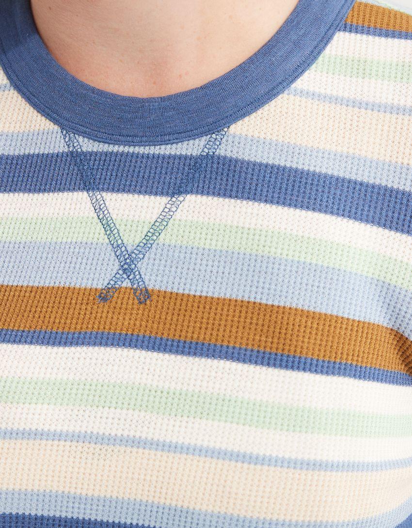 Aerie Waffle Long Sleeve Cropped T-Shirt