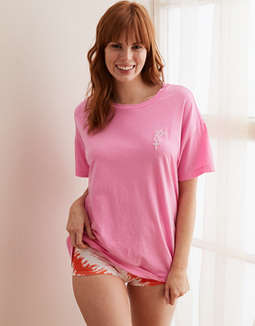 Aerie Distressed Boyfriend T-Shirt
