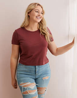 Aerie Tie Back Baby T-Shirt