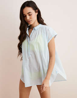 86853f4cc73df placeholder image Aerie Woven Popover Shirt ...