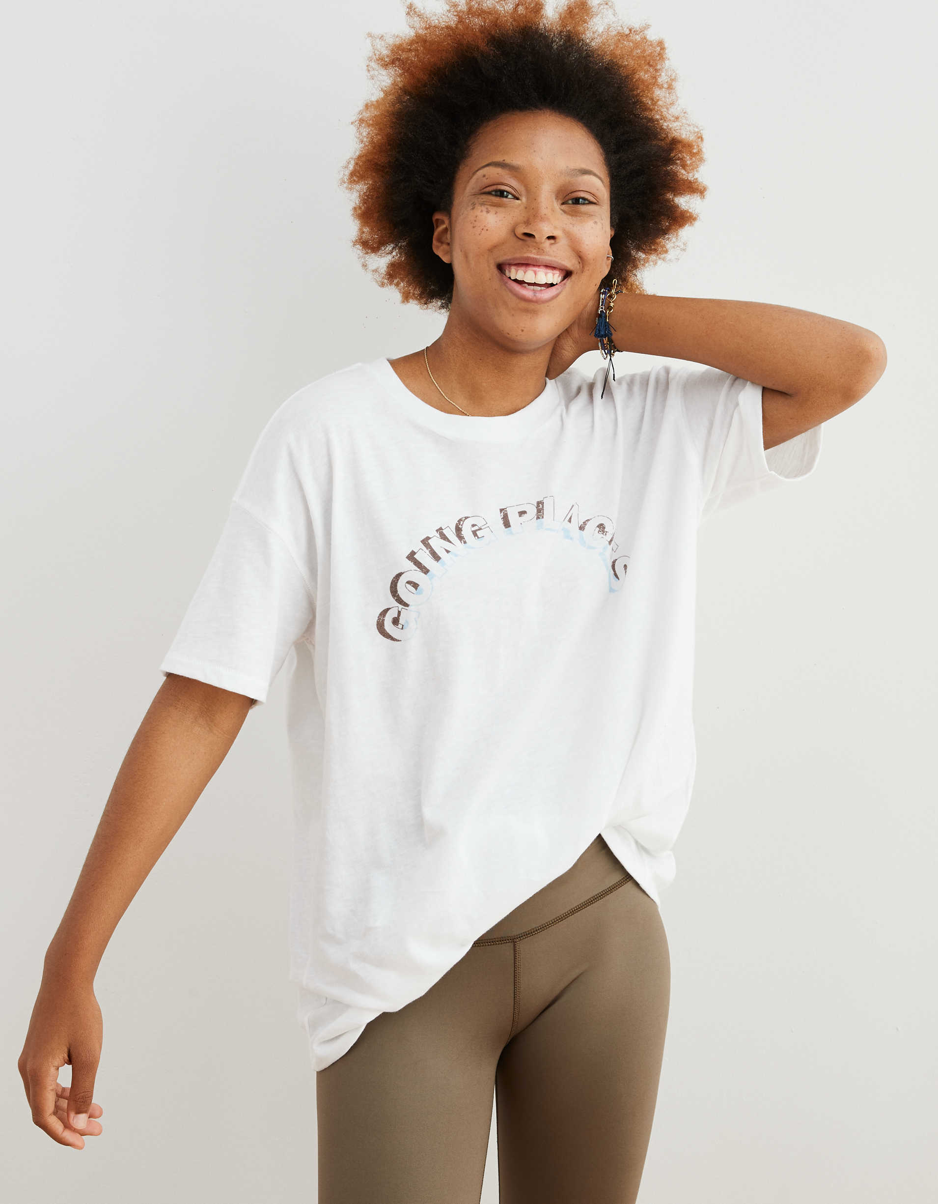 Aerie Oversized Retro Boyfriend T-Shirt