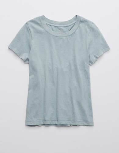 Aerie Cropped Short Sleeve T-Shirt