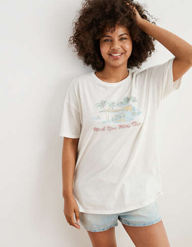 Aerie Graphic Boyfriend T-Shirt