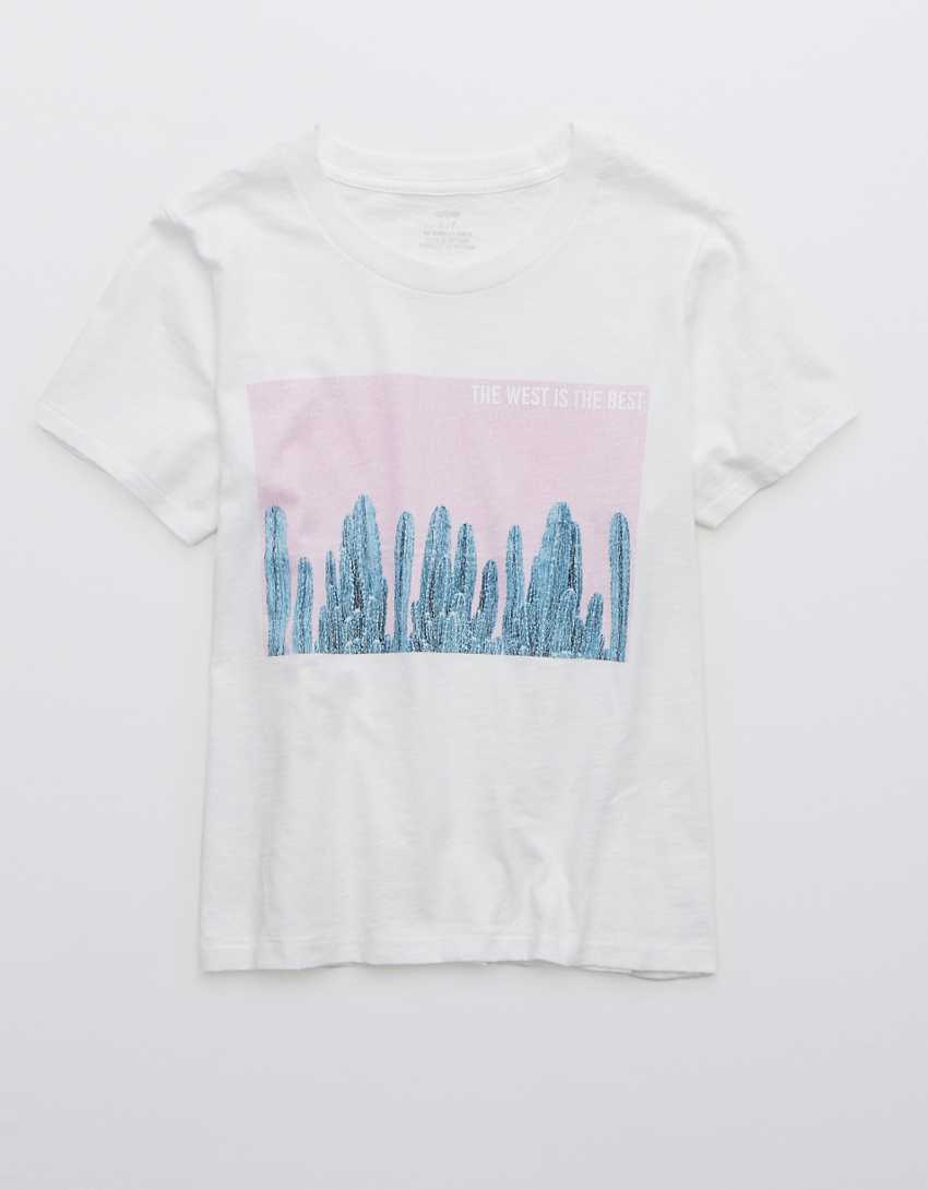 Aerie West Is Best Graphic Oh Baby! T-Shirt