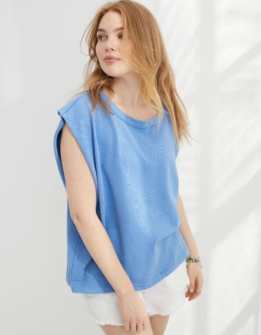 Aerie Dolman Sleeve Oversized T-Shirt