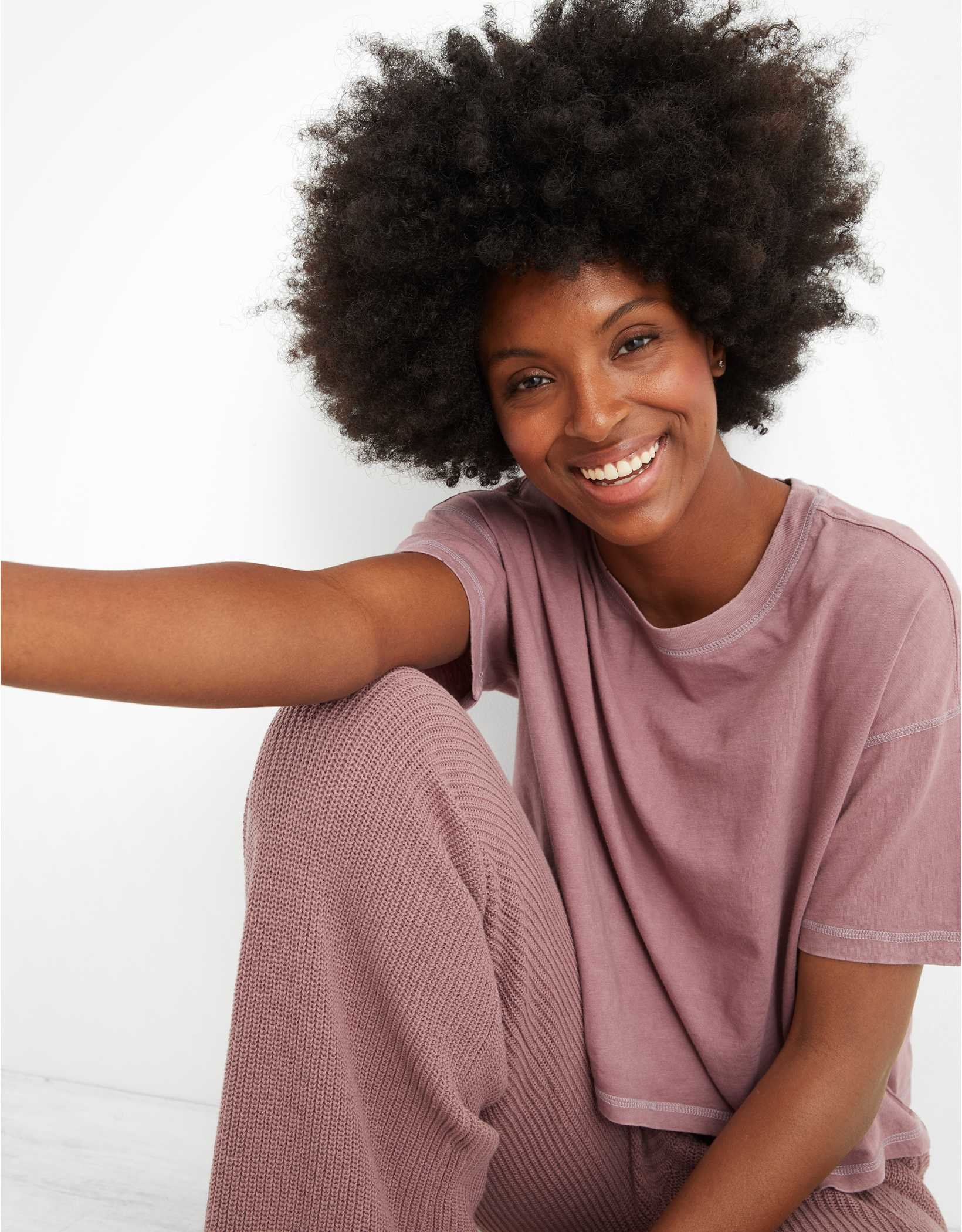 Aerie Cropped Oversized T-Shirt
