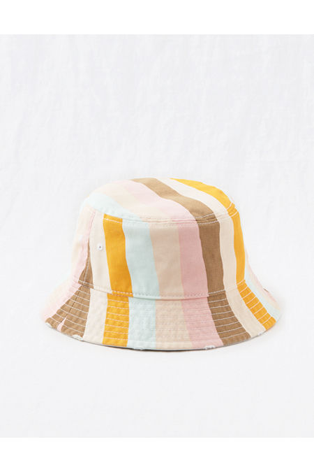Women's Vintage Hats | Old Fashioned Hats | Retro Hats Aerie Bucket Hat Womens Cheeky Peach One Size $7.98 AT vintagedancer.com