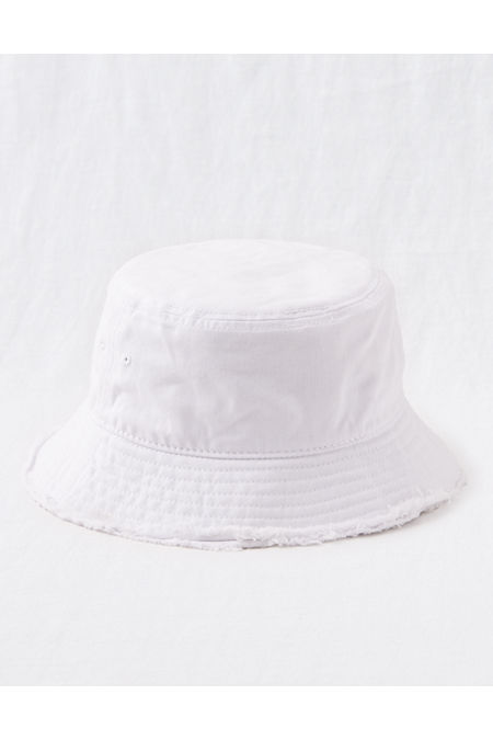 Women's Vintage Hats | Old Fashioned Hats | Retro Hats Aerie Bucket Hat Womens White One Size $11.97 AT vintagedancer.com