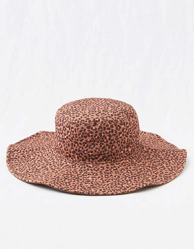 Aerie Printed Wide Brim Hat