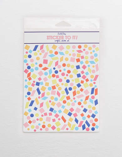 Packed Party Confetti Sticker -