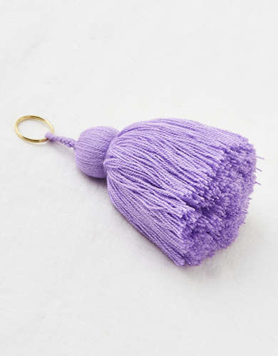 The Little Market Tassel Keychain -