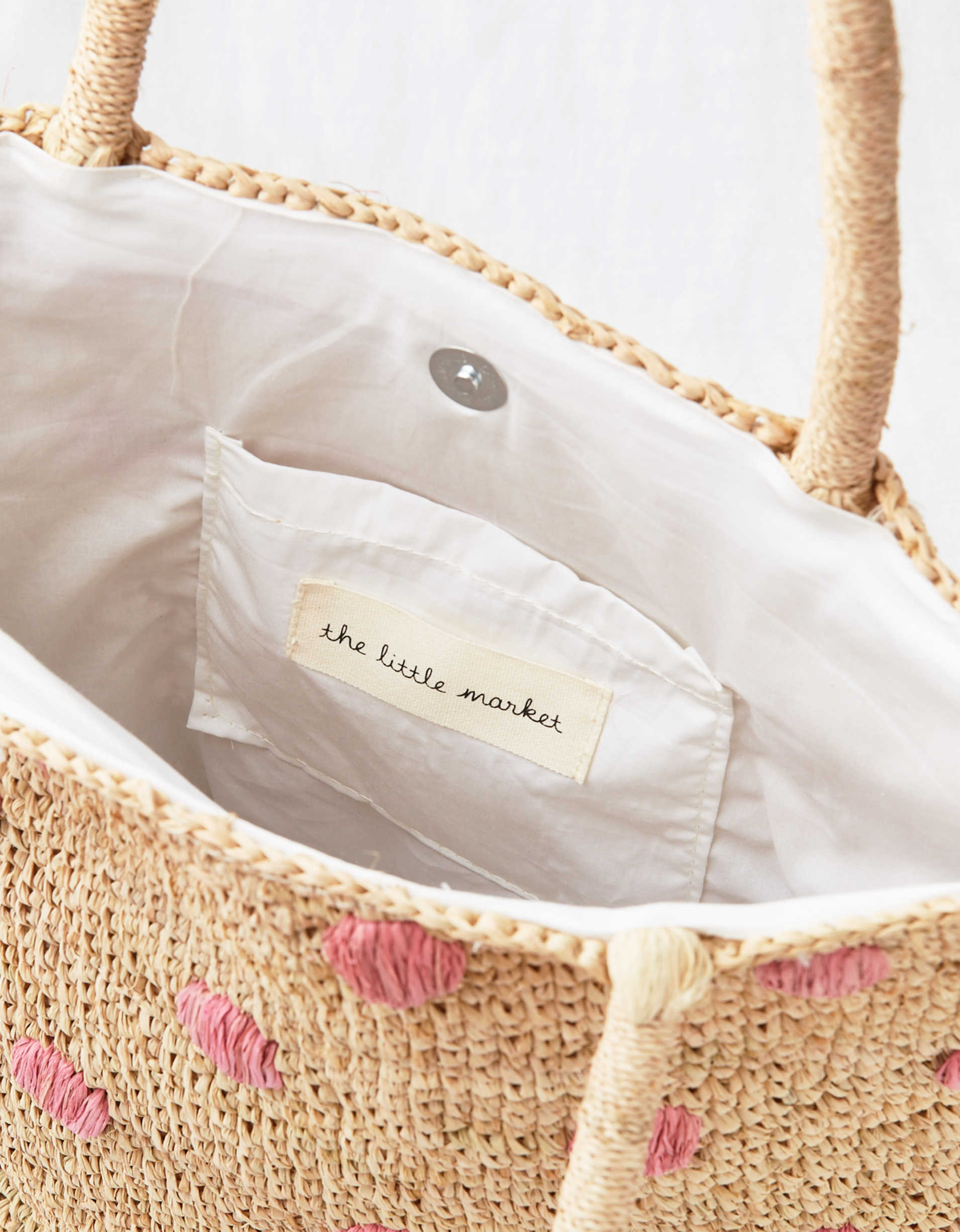 The Little Market Polka Dot Tote