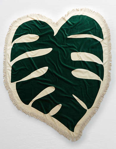 Ban.do Monstera Leaf Towel -