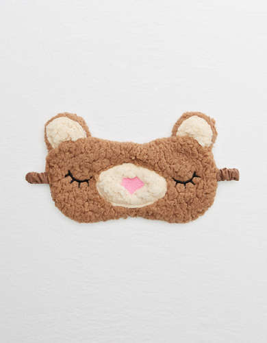Aerie Fuzzy Sherpa Sleep Mask