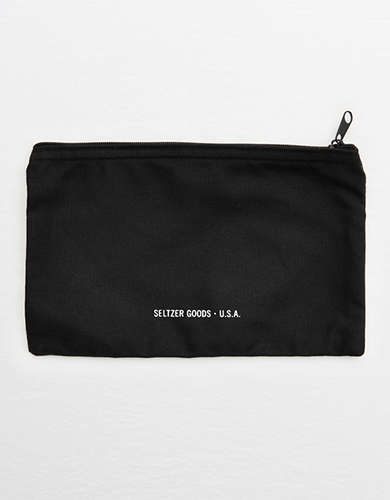 Seltzer Moon Phase Canvas Pouch