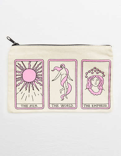 Seltzer Tarot Card Canvas Pouch