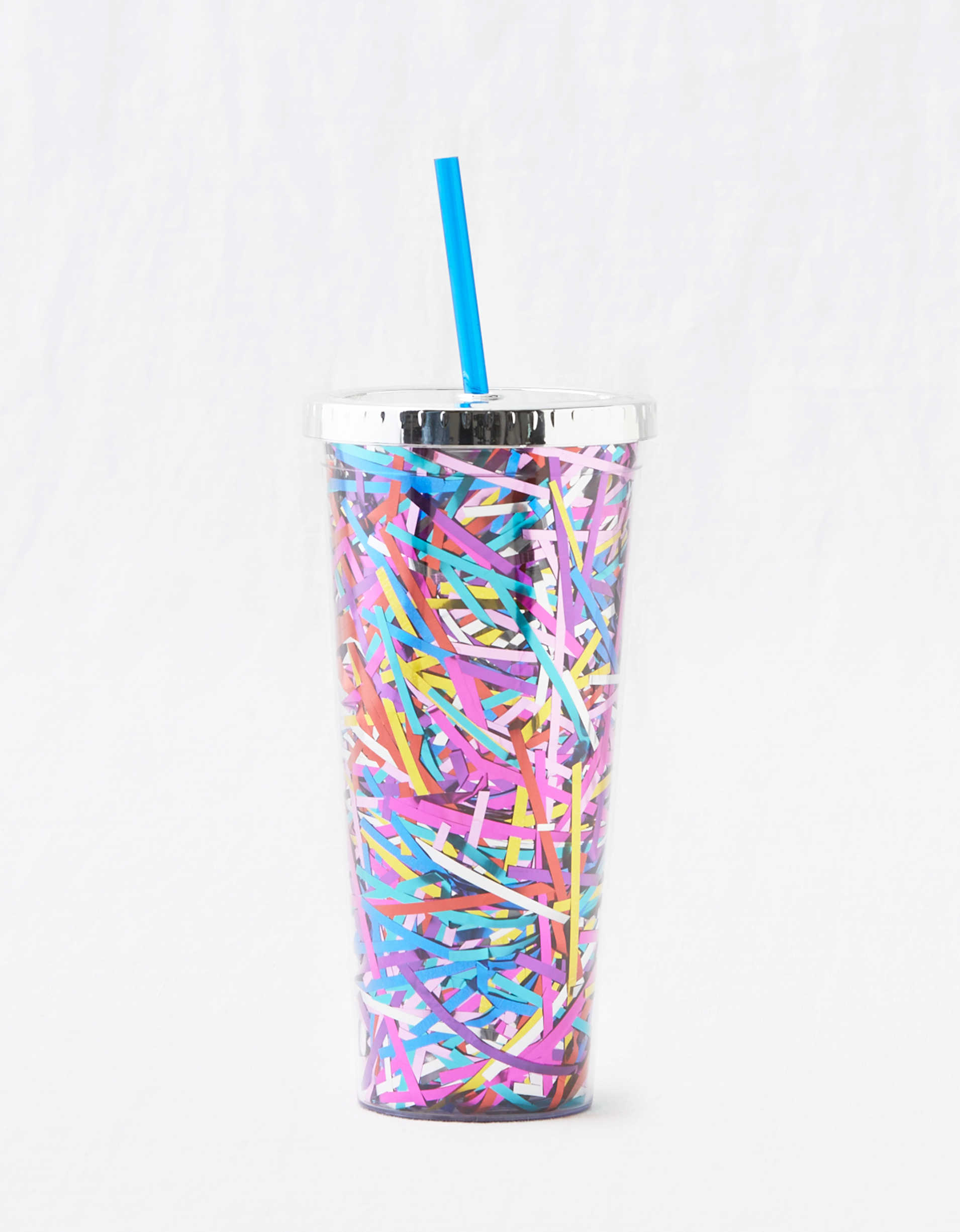 Packed Party Tinsel Tumbler